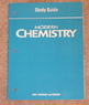 Modern Chemistry Study Guide (Holt)  New Chemistry Workbook
