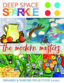 Modern Masters Art Lessons for Grades 3-6