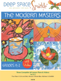 Modern Masters Art Lessons for K-2 with Video