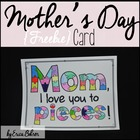 Mom, I Love You to Pieces - Mother&#039;s Day Project