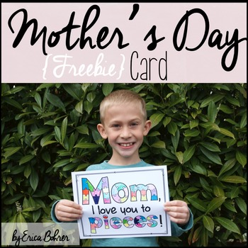 Mom, I Love You to Pieces - Mother's Day Project