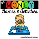 Money Games and Activities! Race to the Bank, Roll Your Fo
