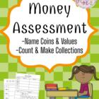 Money Assessment - 1st Grade