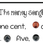 Money Bulletin Board, Penny, Nickel, Dime, Quarter, Poem,