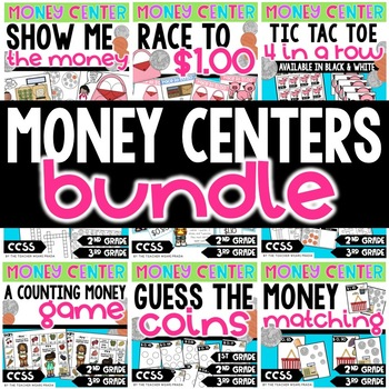 Money Centers Pack: Games, Printables, Activities, and More!
