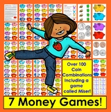 Money Coin Counting Games + Coin Poem – 7 WAYS TO PLAY - C