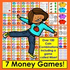 Money Coin Counting Games + Coin Poem  7 WAYS TO PLAY -