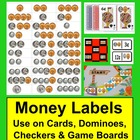 Money Coin Counting Math Center Activities Labels in an Instant