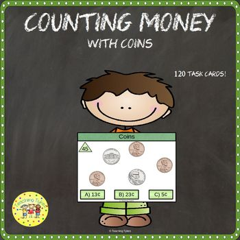 http://www.teacherspayteachers.com/Product/Money-Count-Clip-Cards-Common-Core-Aligned-910239