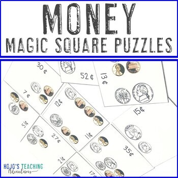 Money Magic Square Puzzles