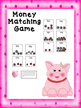 Money Matching Game