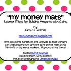 Money Mats: Students Build Money Amounts