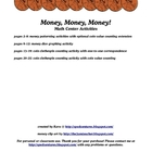 Money, Money, Money! math center activities
