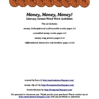 Money, Money, Money! word work/literacy activity set