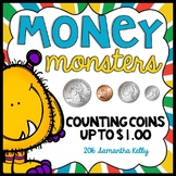 Money - Identifying and Counting Money with Monsters