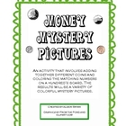Money Mystery Pictures- Adding Together Different Coins