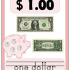 Money Recognition Poster Flash Cards and Make & Take books