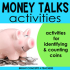 Money Talks: Centers and Craftivities {Common Core Aligned}