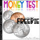 Money Test - Coin Counting and Adding Practice / Assessmen