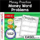 Money Word Problems - 2.MD.8