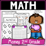 Money in 2nd Grade for the Common Core Classroom