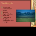 Mongol Conquest and Rise to Power
