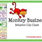 Monkey Business Behavior Clip Chart