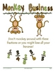 Monkey Business Fraction Comparison Game