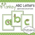 Monkey Letters for Posters & Displays