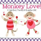 Monkey Love! A Valentine's Day Themed Articulation Unit