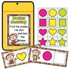 Monkey Matching Envelope Center