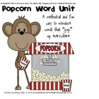 Monkey Popcorn Word Fun Yearlong Unit