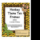 Monkey Ten Frames 