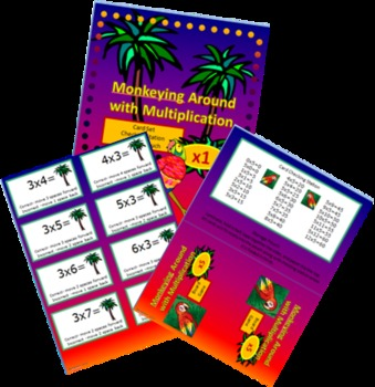 Monkeying Around with Multiplication- Board Games