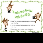 Monkeying Around with the ABC's