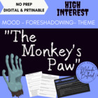 &quot;Monkey&#039;s Paw&quot; - An Interactive, Engaging ELA Short Story 