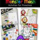Monser Mash Lesson Plan Theme