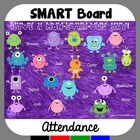 Monster Attendance for SMART Board