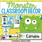 Monster Classroom Decor Set (Colorful Designs)