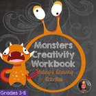 Monster Creativity Workbook - Printable Writing Prompts an