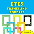 Monster Eyes - Frames and Borders - Clip Art