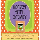 Monster Glyph Activity (Halloween Math &amp; Language Arts Poetry)