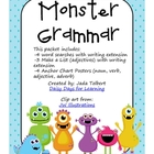Monster Grammar: Nouns, Verbs, Adjectives, Adverbs