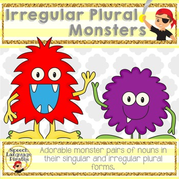 Monster Irregular Plurals