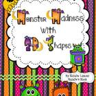 Monster Madness With 2D Shapes