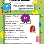 Monster Mania Back to School Organization Galore