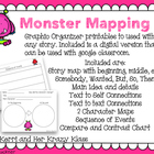 Monster Mapping for stories (Story maps for reading response)