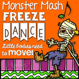 Monster Mash Freeze Dance