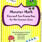 Monster Math! Five and Ten Frame Fun for the Common Core