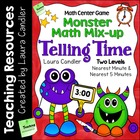 Monster Math Mix-up: Telling Time (Common Core Aligned)